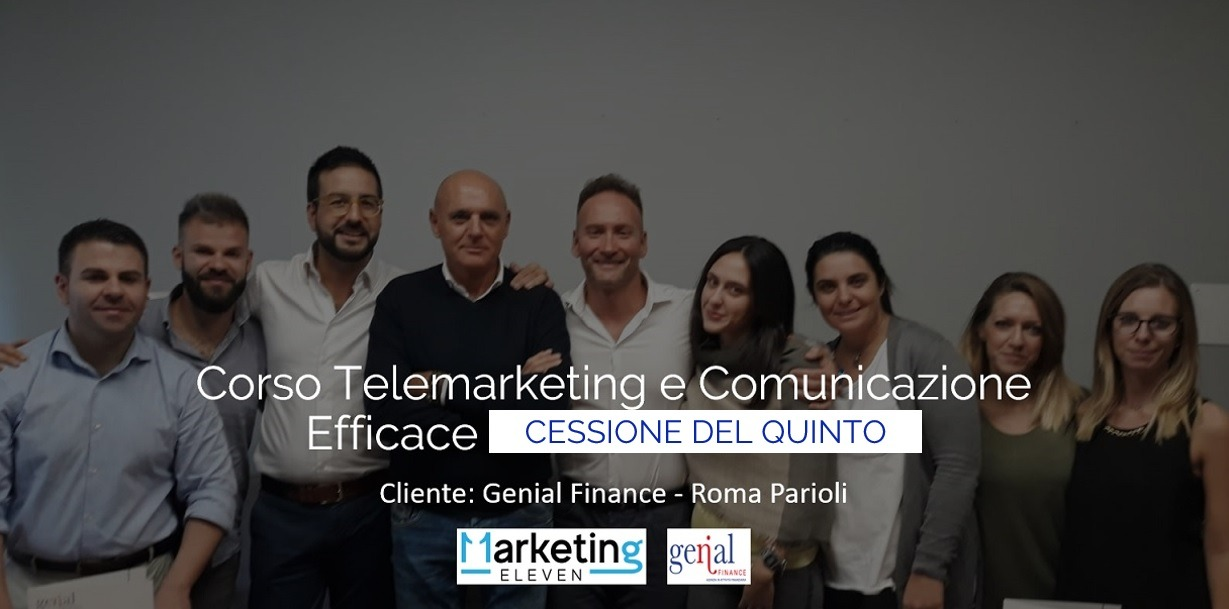 Corso Telemarketing Cessione del Quinto Telemarketing Efficace